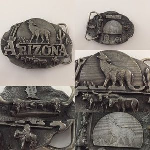 Vintage 90's Arizona Belt Buckle